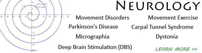 Neurology softeware for detection of disease and impairment